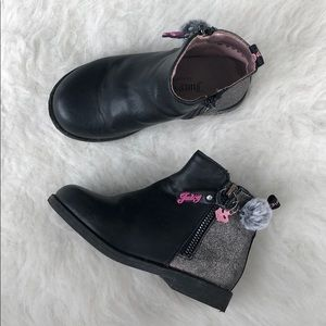 Juicy couture toddler booties